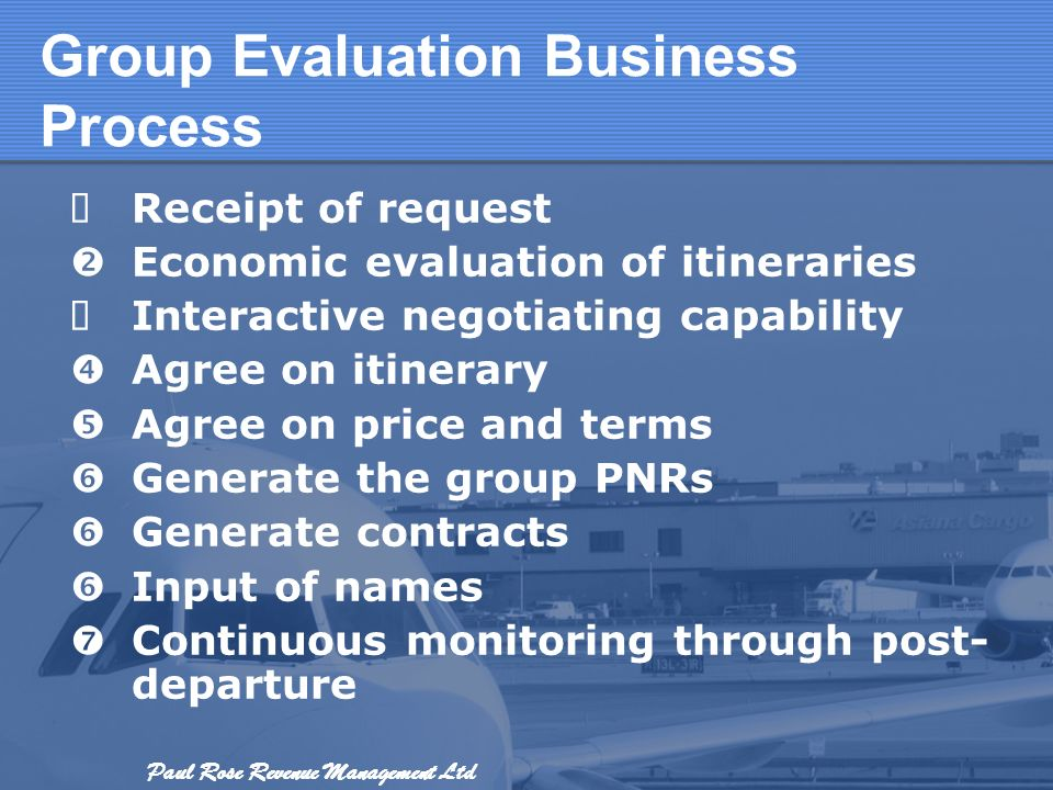 Group Evaluation Business Process