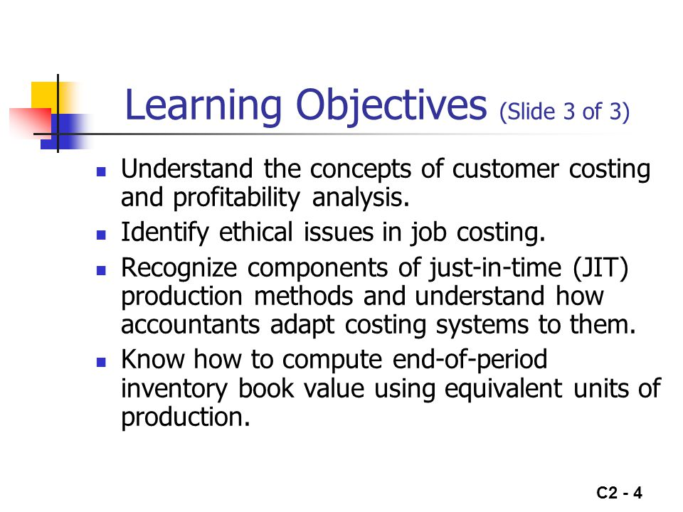Learning Objectives (Slide 3 of 3)