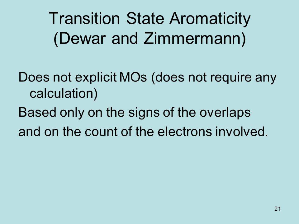 Transition State Aromaticity (Dewar and Zimmermann)