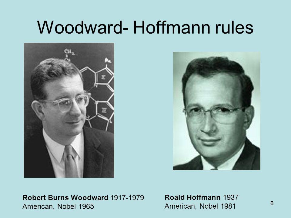 Woodward- Hoffmann rules