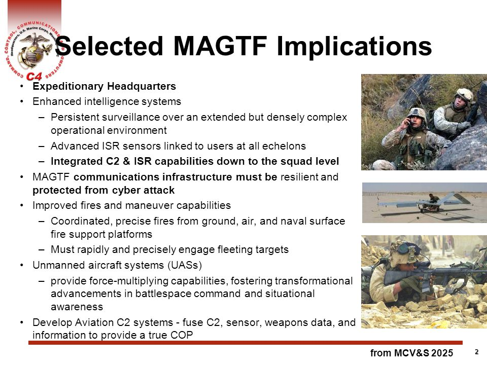 Selected MAGTF Implications