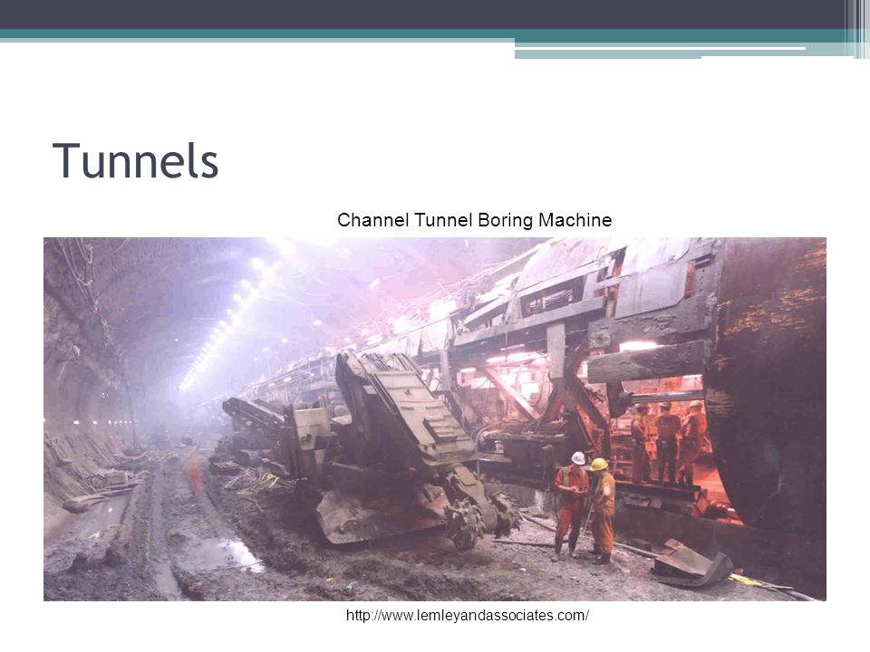 Channel Tunnel Boring Machine
