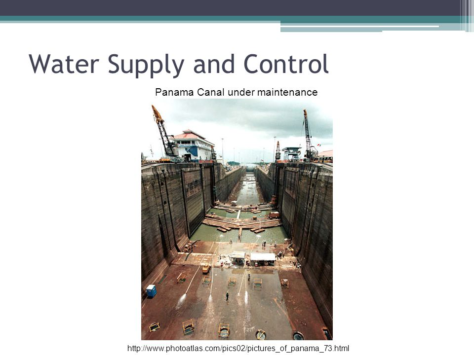 Water Supply and Control