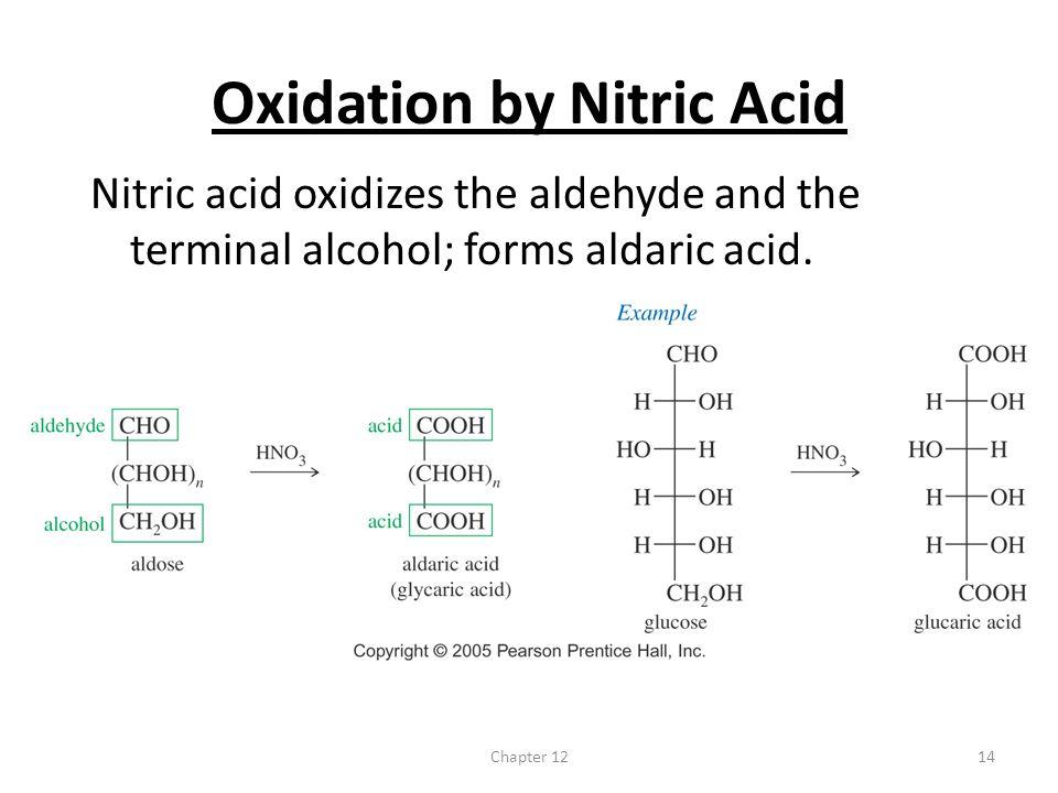 Oxidation by Nitric Acid