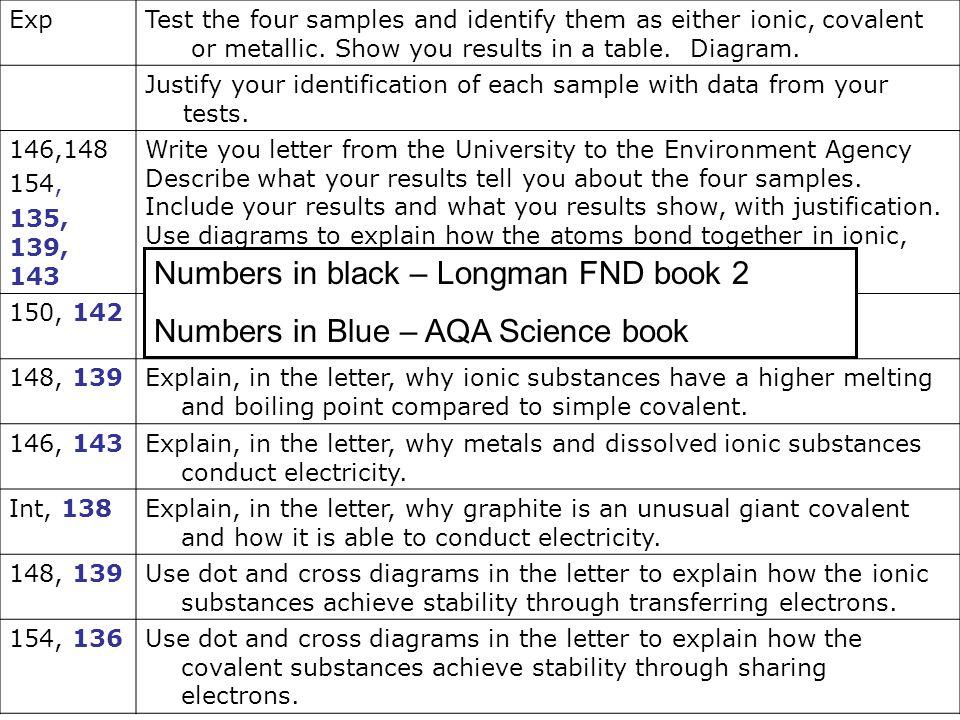 Numbers in black – Longman FND book 2