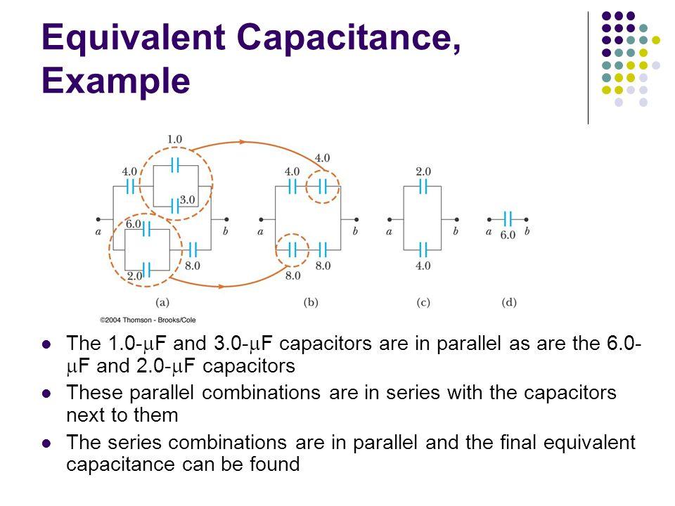 Equivalent Capacitance, Example