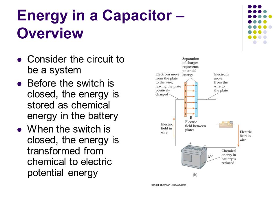 Energy in a Capacitor – Overview