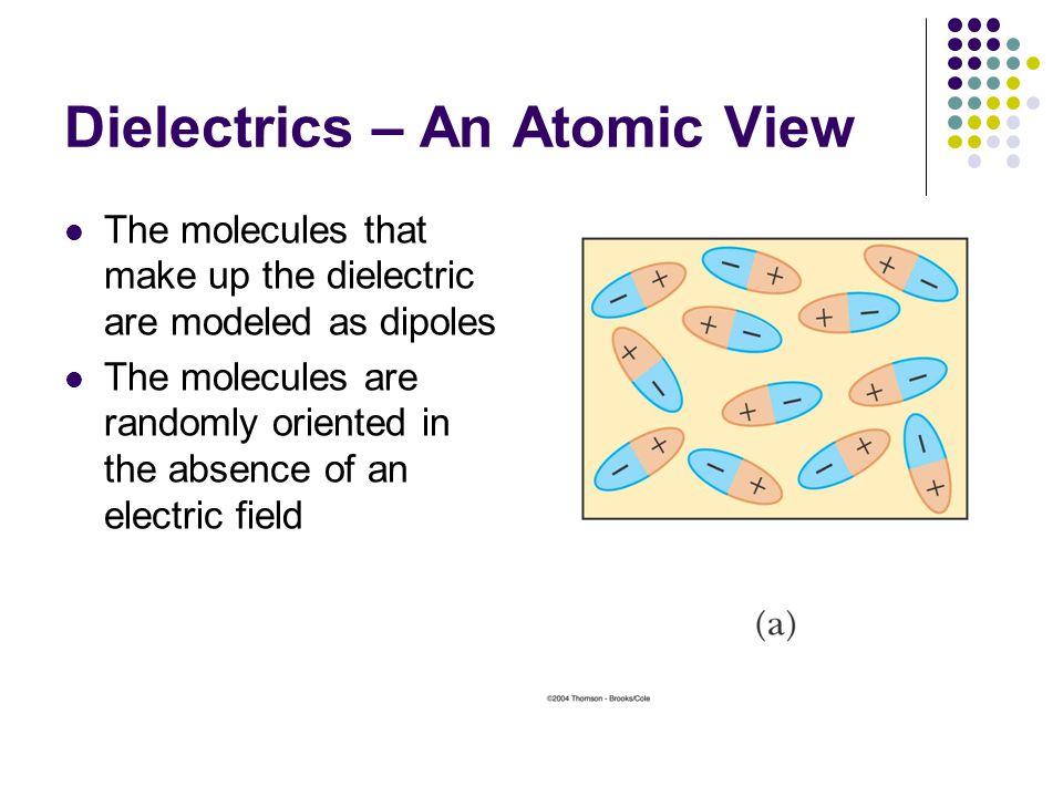 Dielectrics – An Atomic View