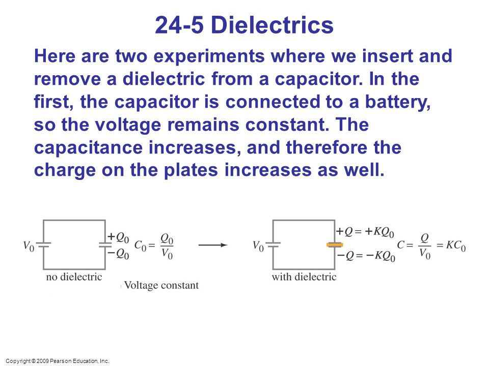 24-5 Dielectrics