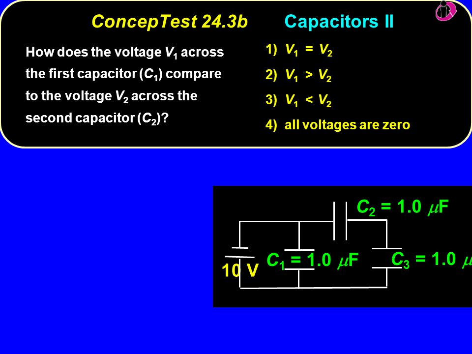ConcepTest 24.3b Capacitors II