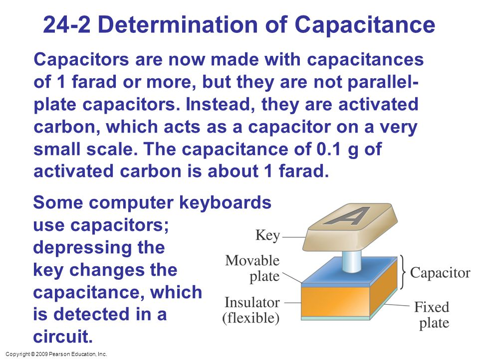 24-2 Determination of Capacitance