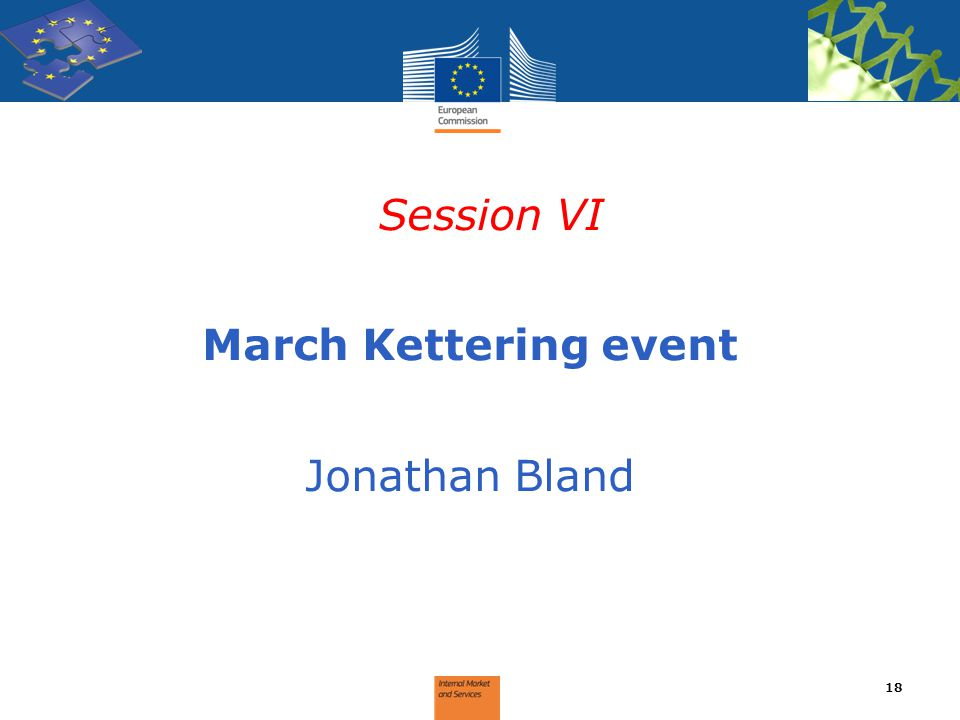 Session VI March Kettering event Jonathan Bland