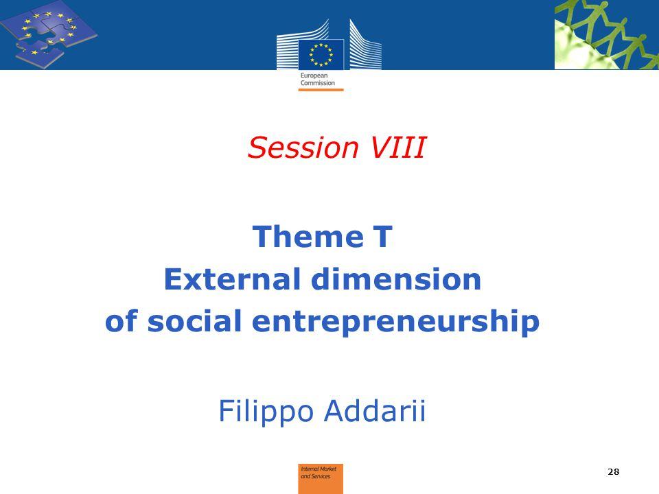 of social entrepreneurship