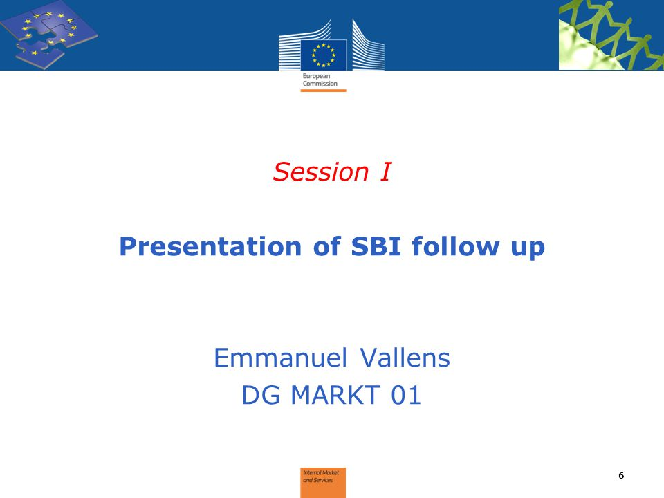 Presentation of SBI follow up