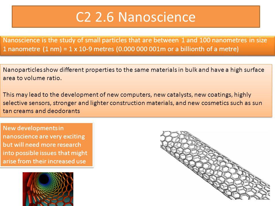 C2 2.6 Nanoscience