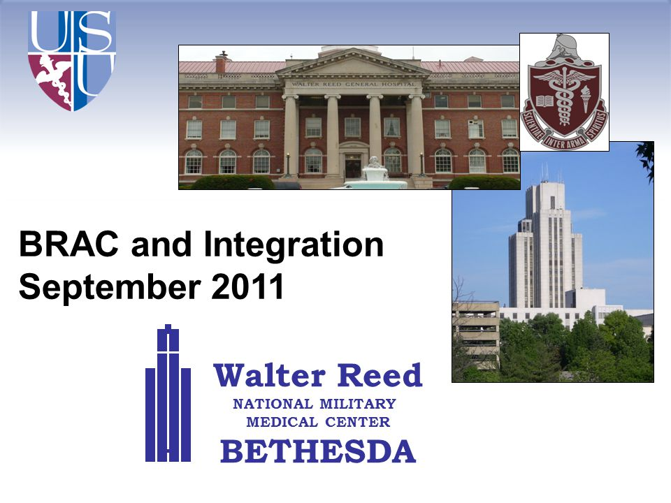 BRAC and Integration September 2011