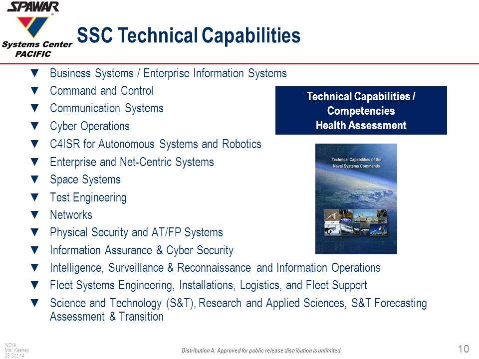 Focus Areas C4ISR Resilience in a maritime environment