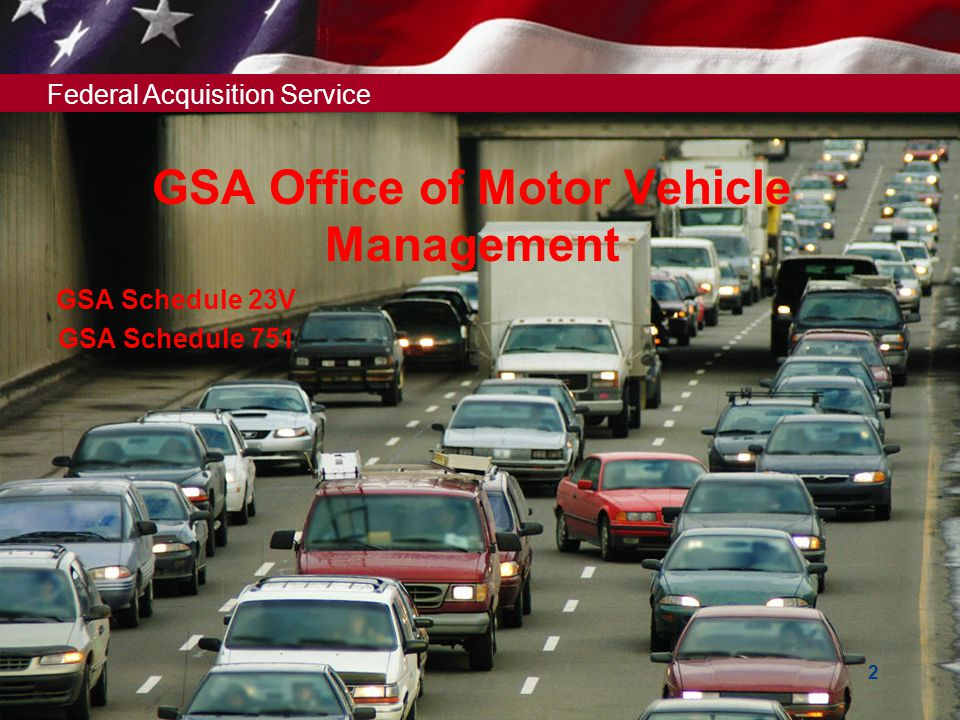 GSA Office of Motor Vehicle Management
