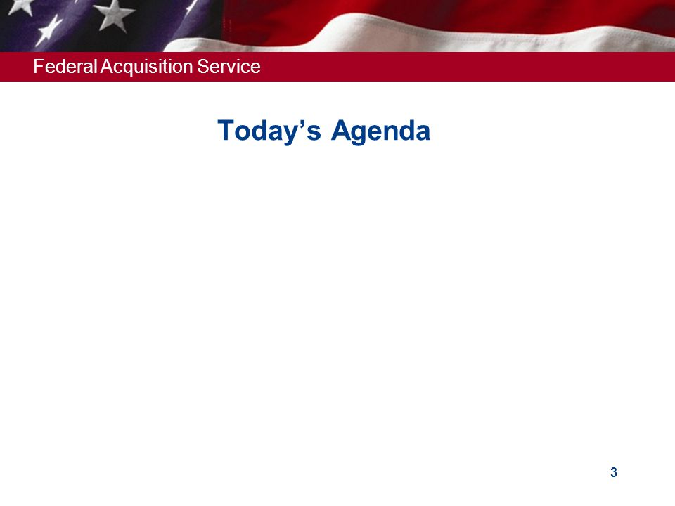 Today's Agenda HERE IS TODAY'S AGENDA.