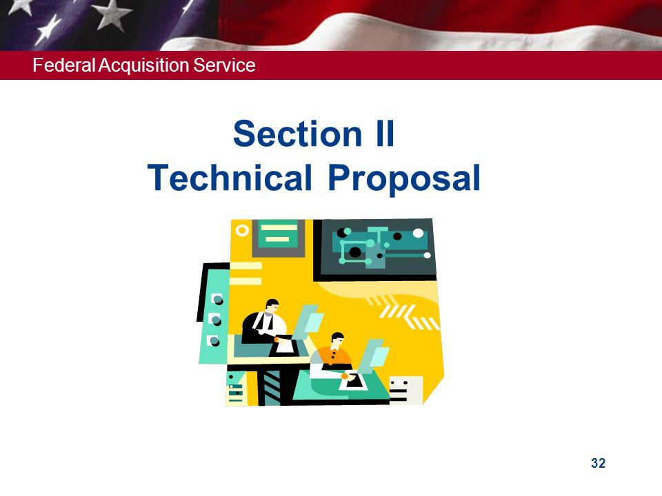 Section II Technical Proposal