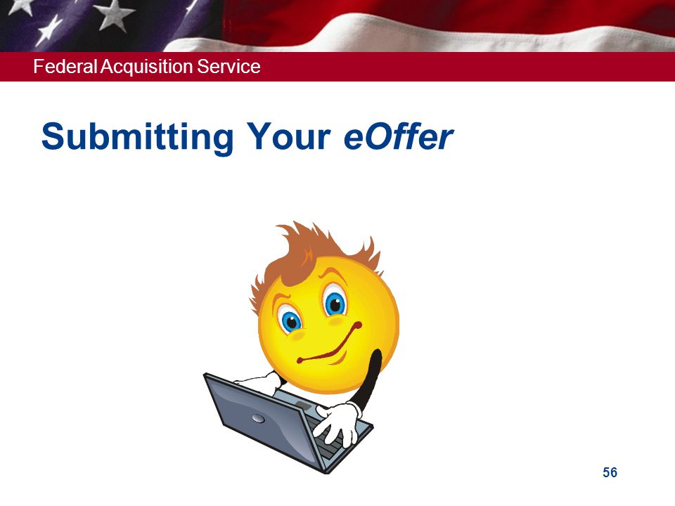 Submitting Your eOffer