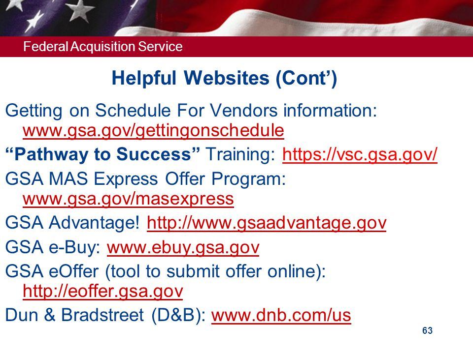 Helpful Websites (Cont')