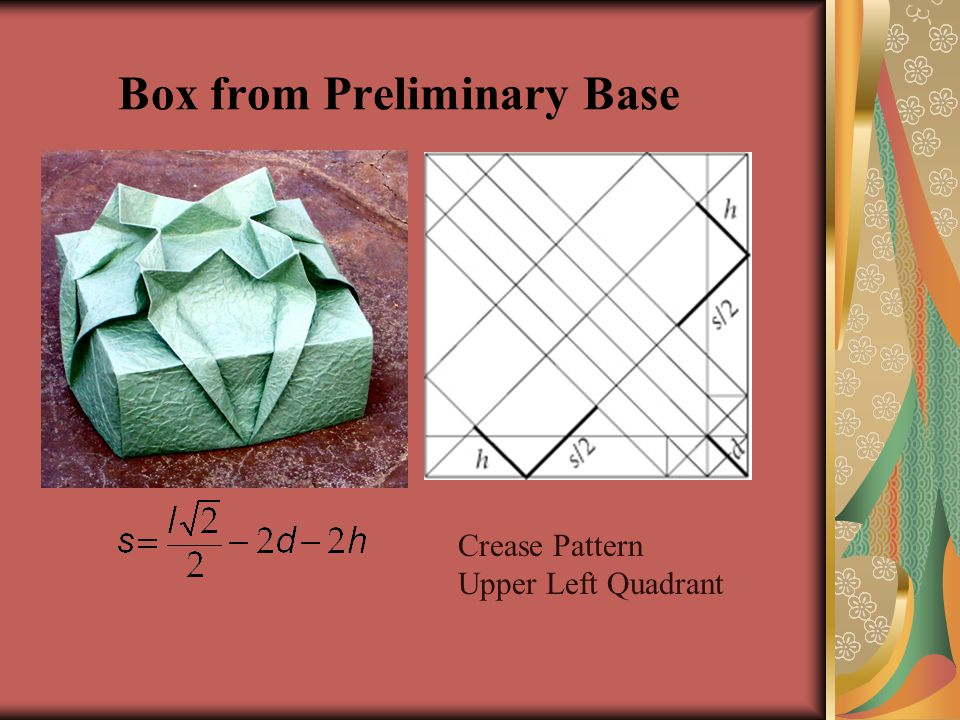Box from Preliminary Base
