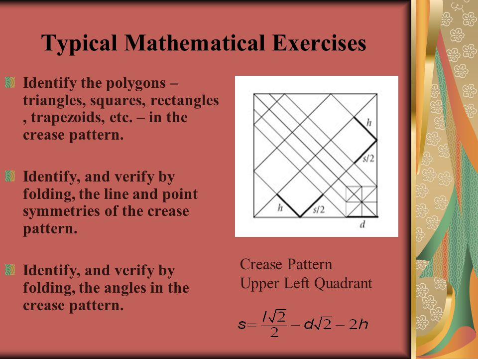 Typical Mathematical Exercises