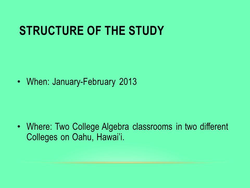 University of Hawaii at Manoa Dept. of Educational Technology ...