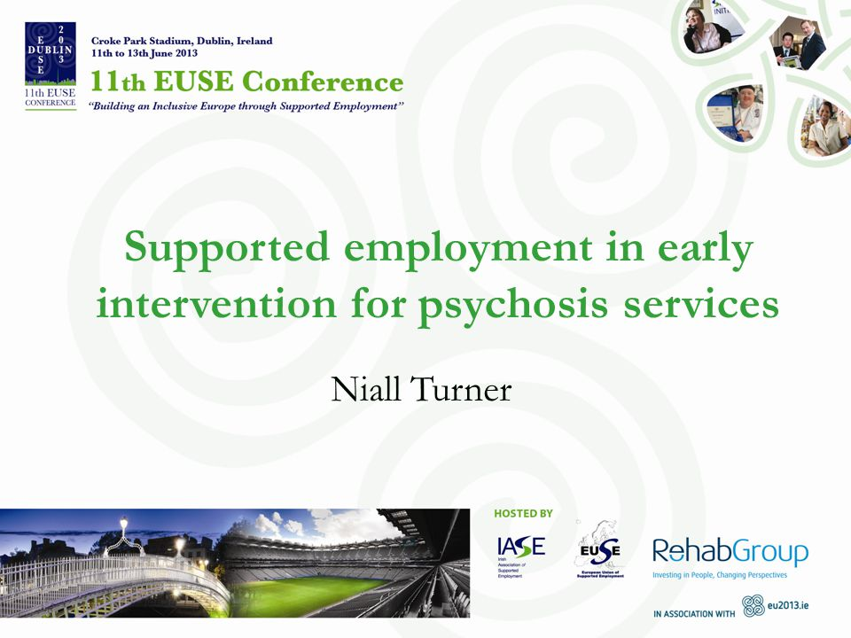 Supported employment in early intervention for psychosis services