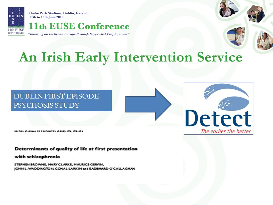 An Irish Early Intervention Service