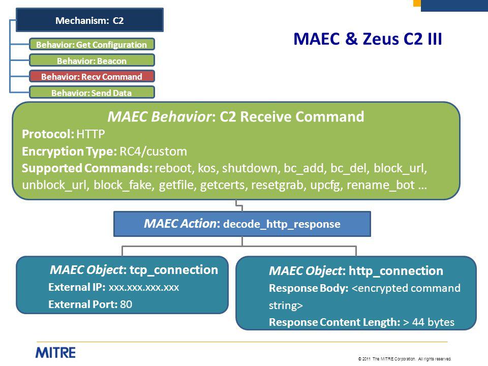 Behavior: Get Configuration Behavior: Recv Command
