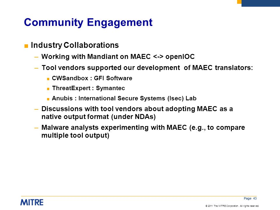Community Engagement Industry Collaborations