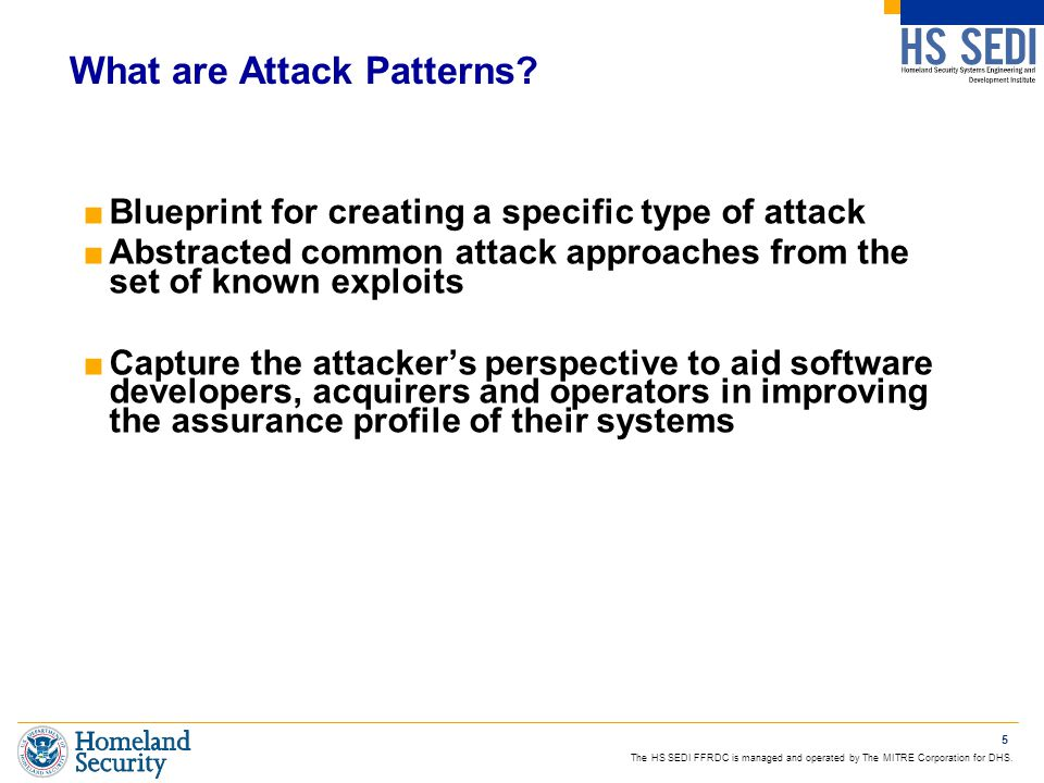 What are Attack Patterns