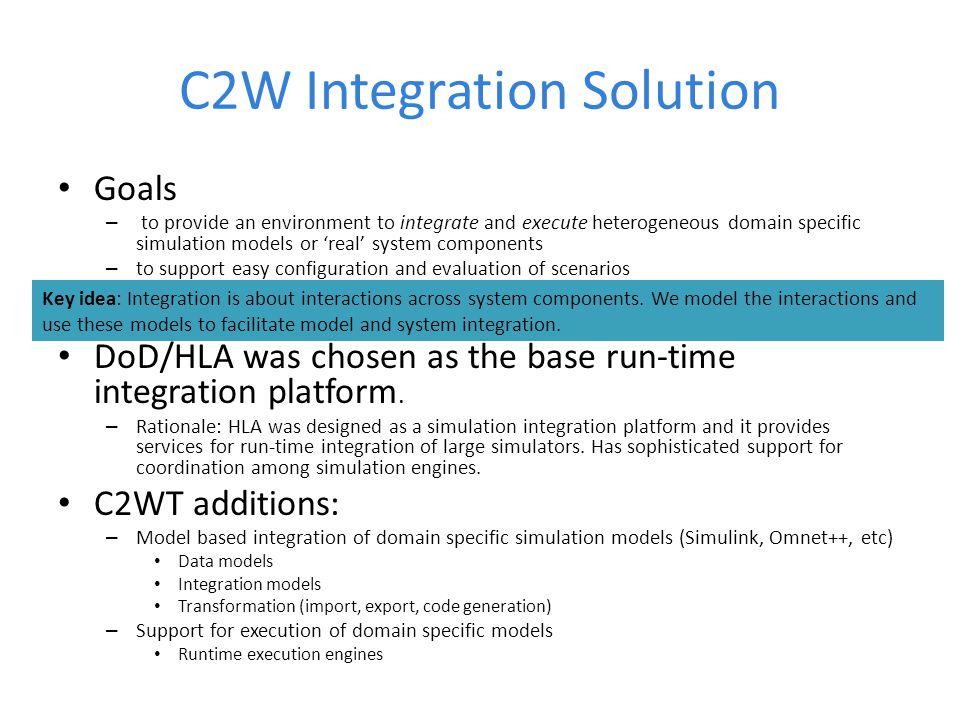 C2W Integration Solution