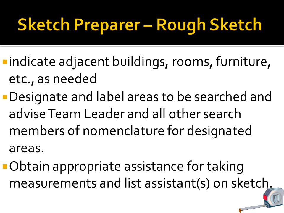 Sketch Preparer – Rough Sketch