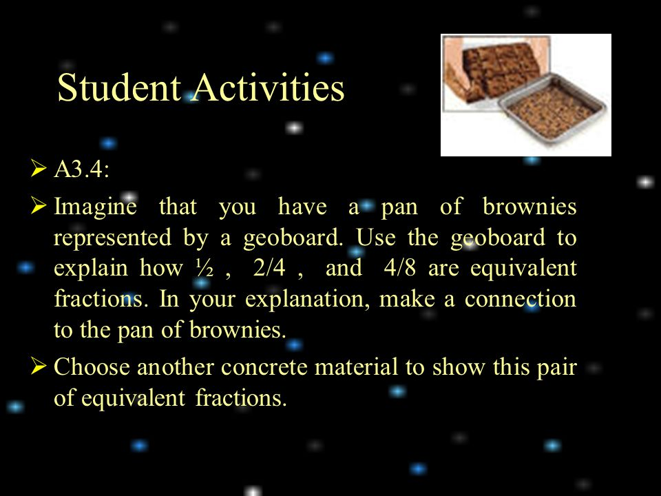 Student Activities A3.4: