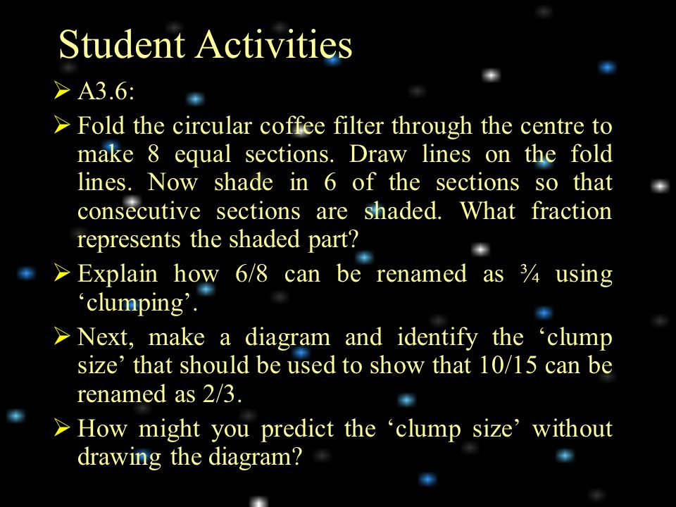 Student Activities A3.6: