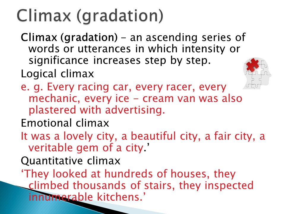 Climax (gradation)