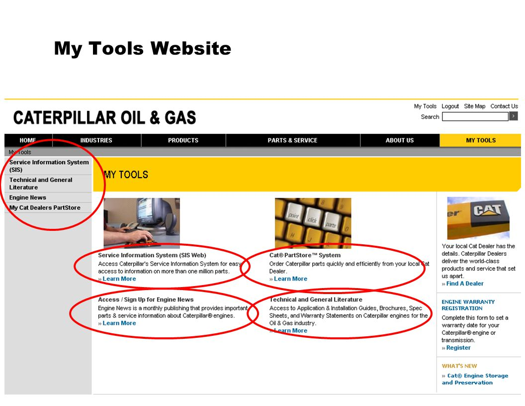 My Tools Website