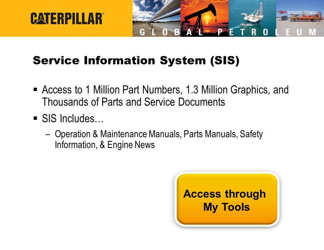Service Information System (SIS)