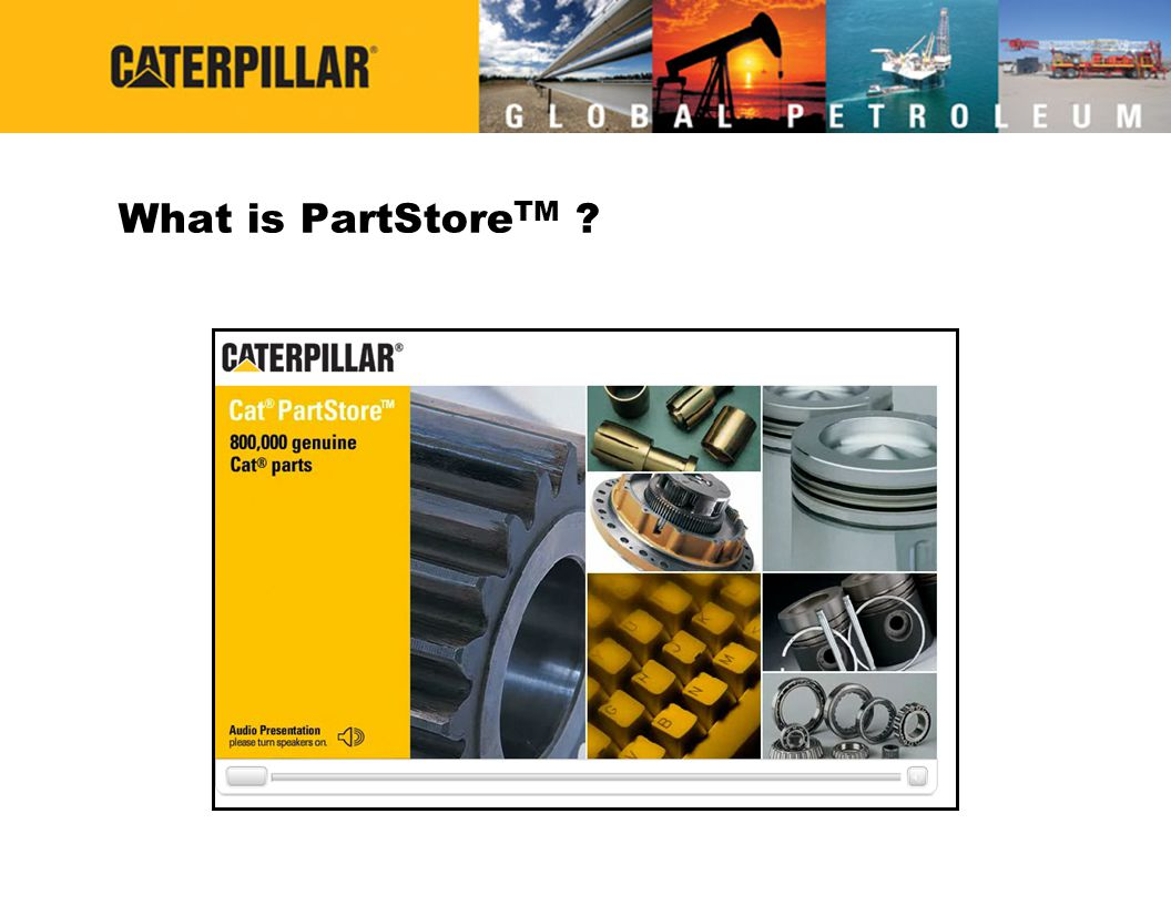 What is PartStoreTM
