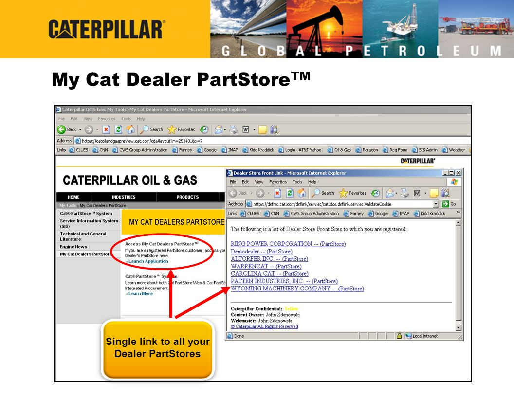 My Cat Dealer PartStoreTM