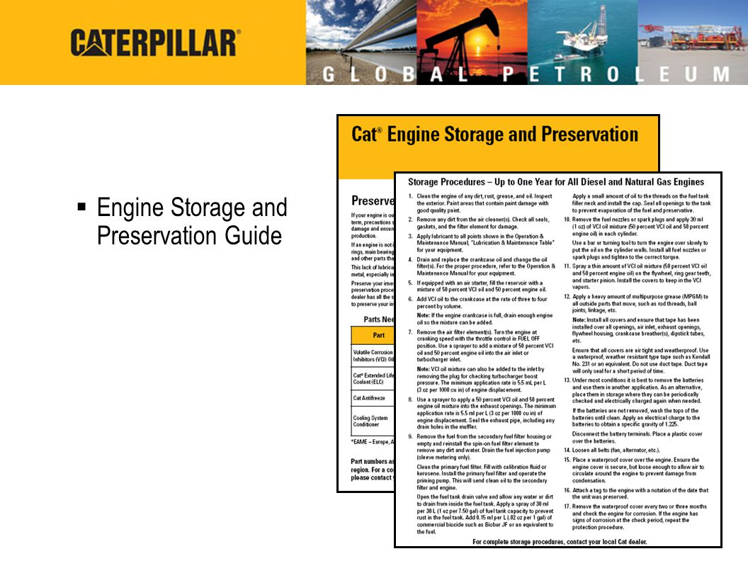 Engine Storage and Preservation Guide