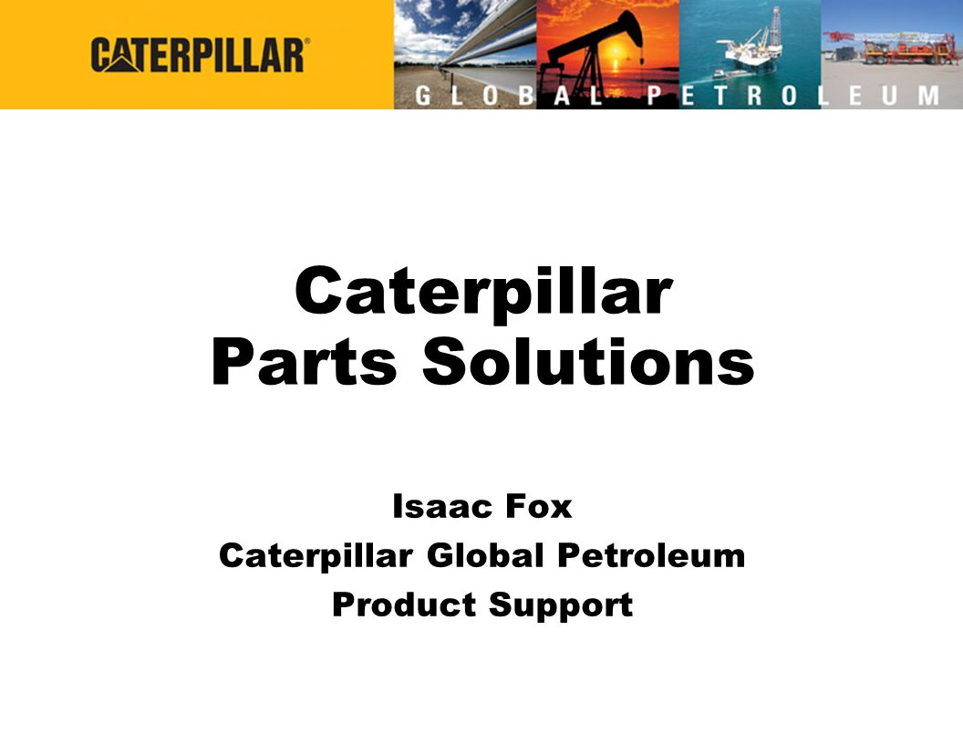 Caterpillar Parts Solutions