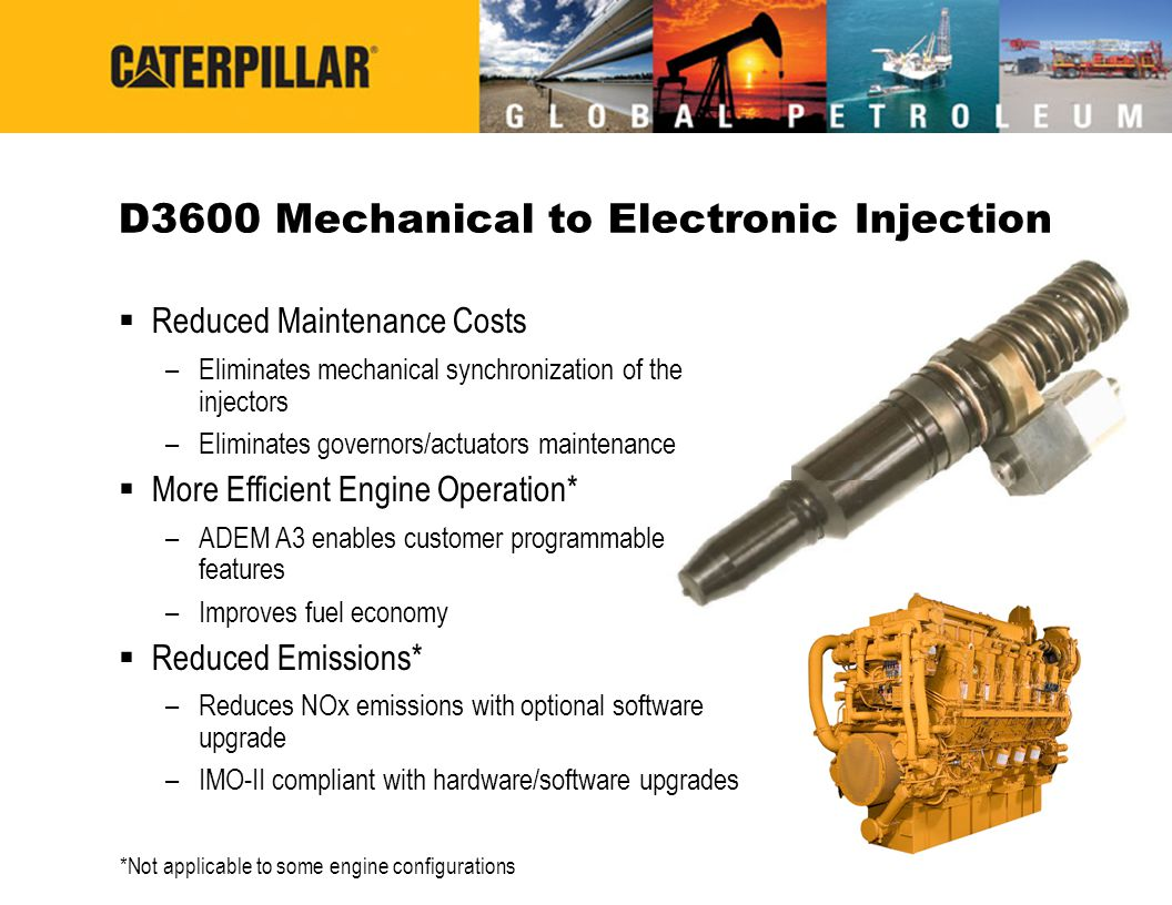 D3600 Mechanical to Electronic Injection