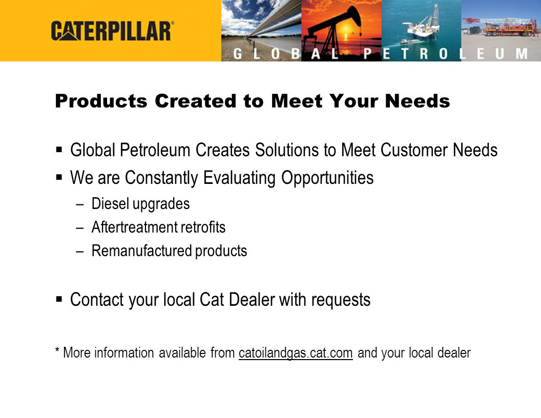 Products Created to Meet Your Needs