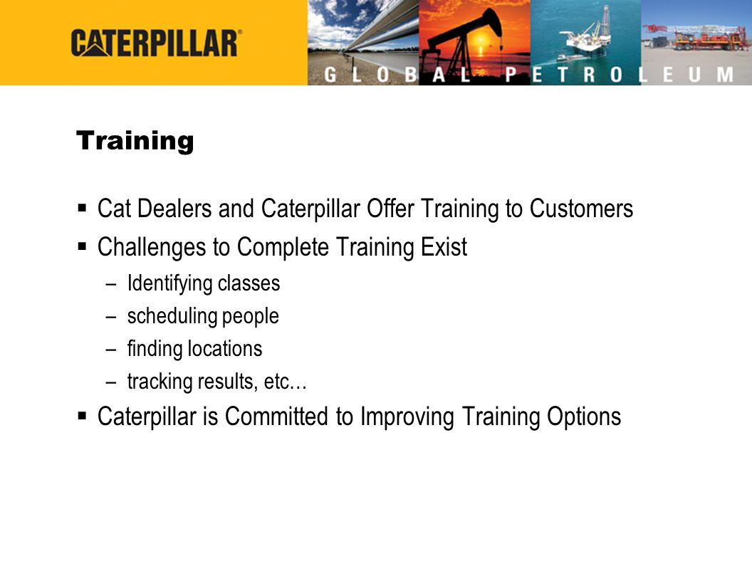 Cat Dealers and Caterpillar Offer Training to Customers
