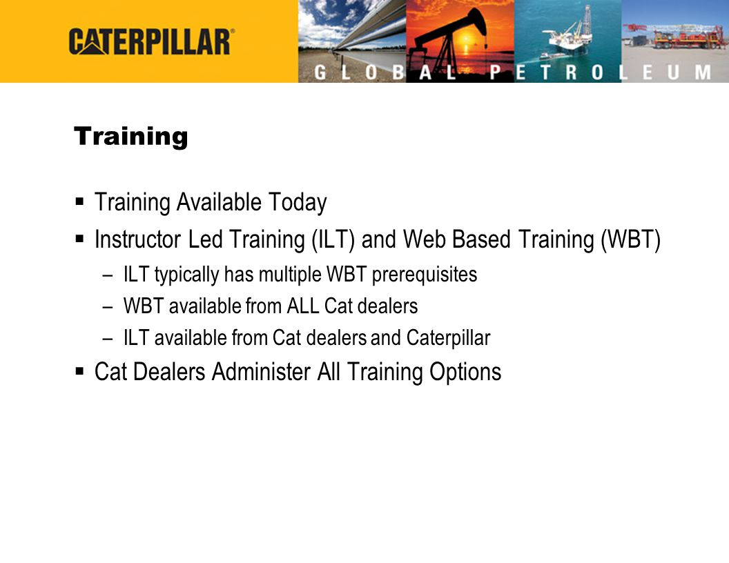 Training Available Today