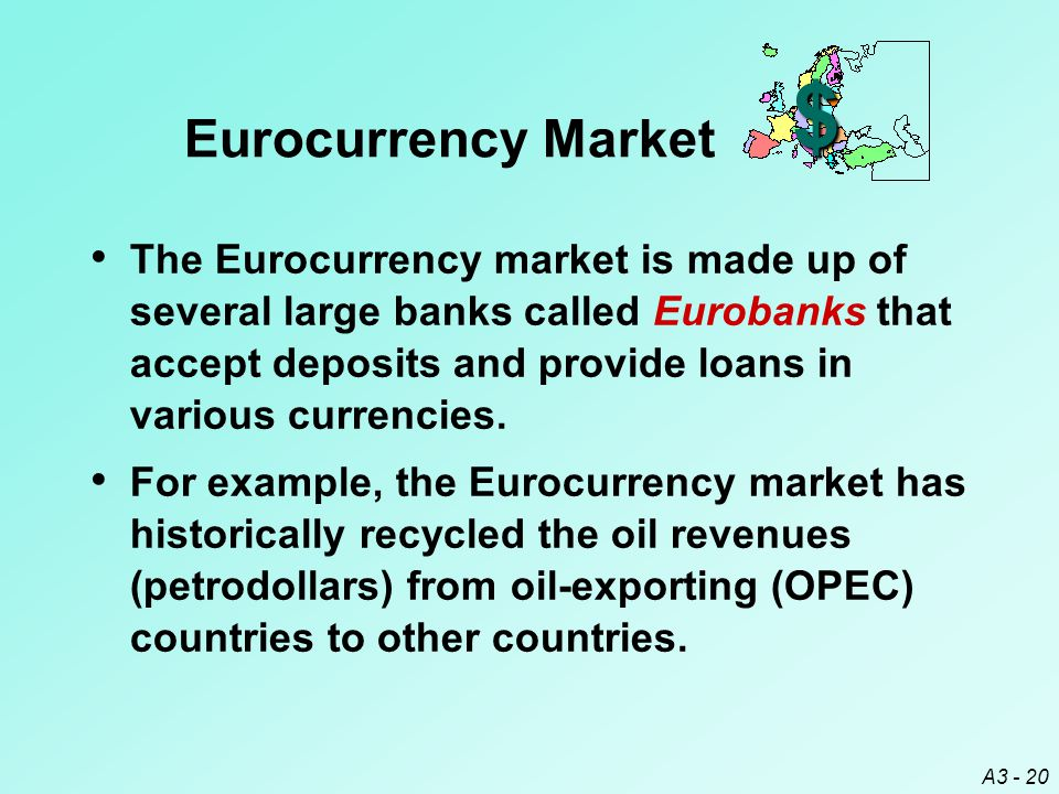 $ Eurocurrency Market.